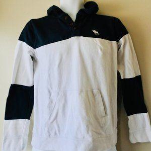 ABERCROMBIE KIDS cotton piqué hoodie size 15/16